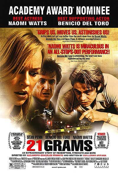 "poster for ""21 Grams&quot"