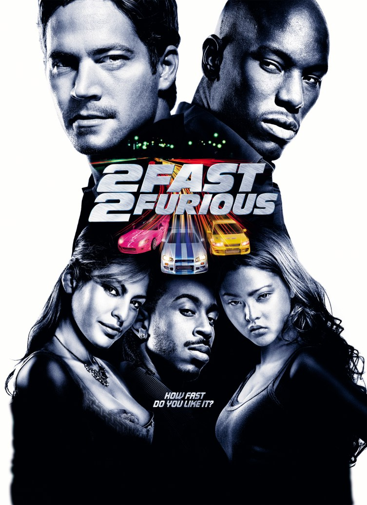 "poster for ""2 Fast 2 Furious"" by John Singleton (2003)"