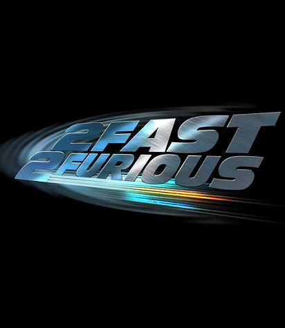 "poster for ""2 Fast 2 Furious&quot"