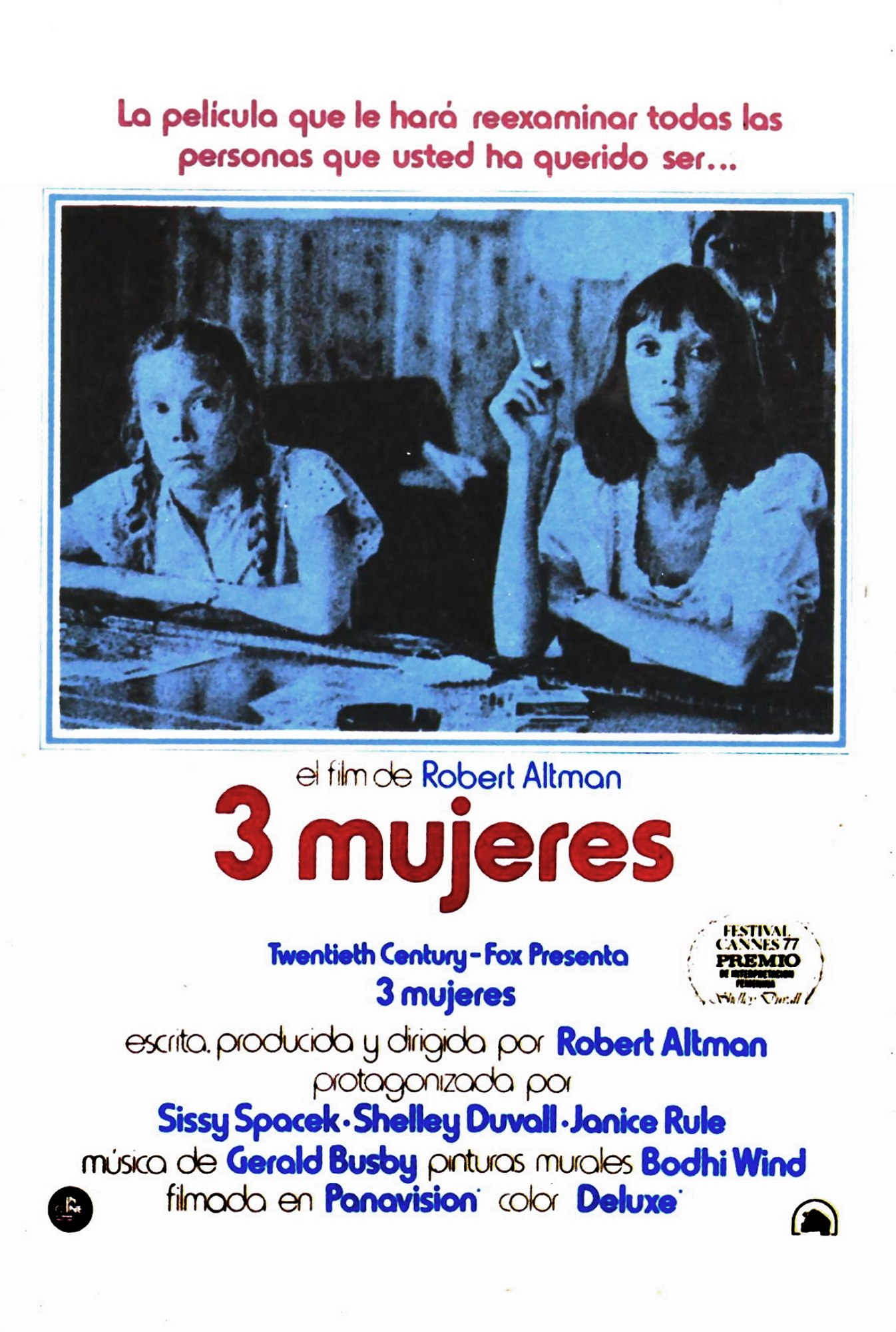 "poster for ""3 Women&quot"