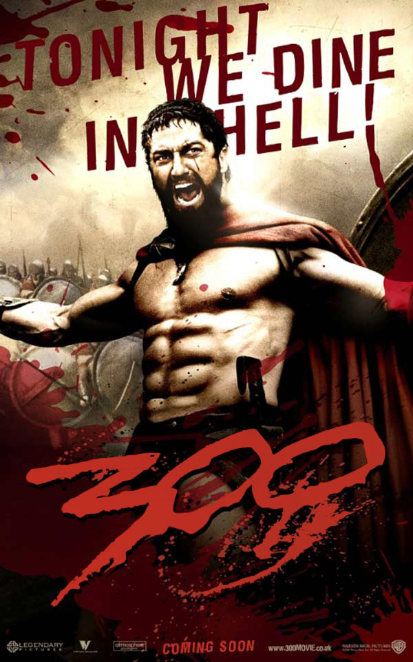 "poster for ""300&quot"