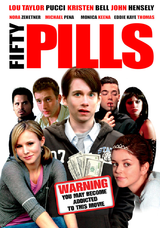 "poster for ""50 Pills"" by Theo Avgerinos(2006)"