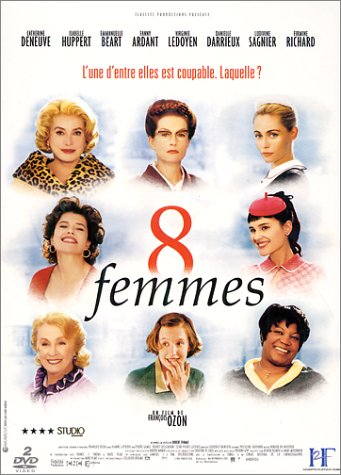 "poster for ""8 Femmes (8 Women)"""