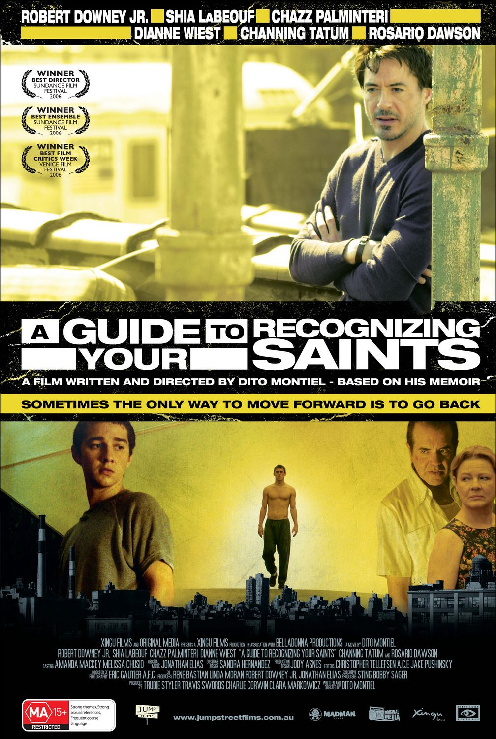 "poster for ""A Guide to Recognizing your Saints"""