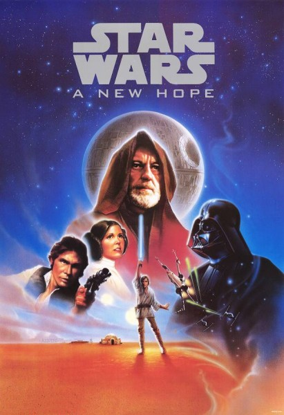Movie Posters 2038 Net Posters For Movieid 126 Star Wars Episode Iv A New Hope 1977 By George Lucas