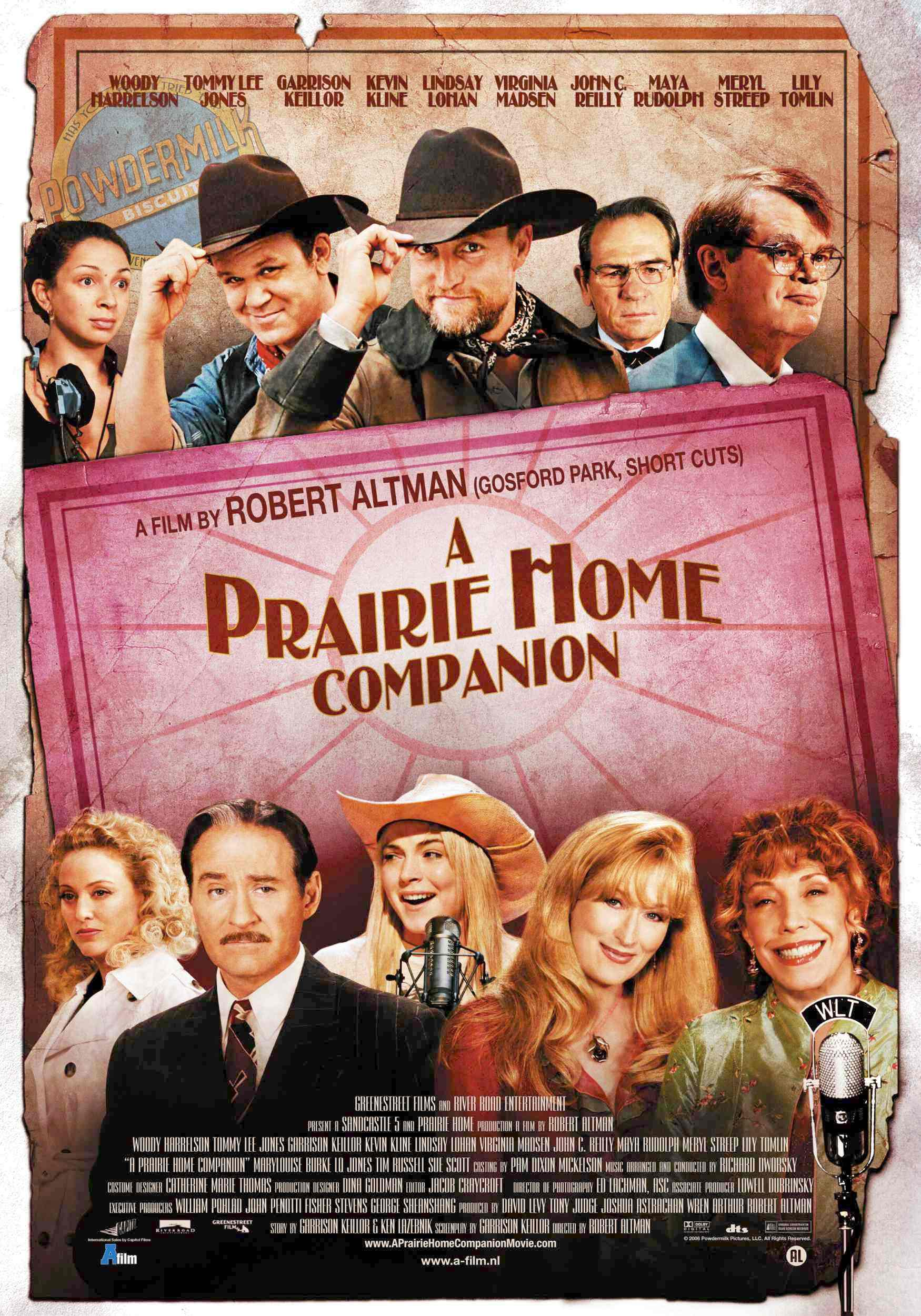 "poster for ""A Prairie Home Companion"" by Robert Altman(2006)"
