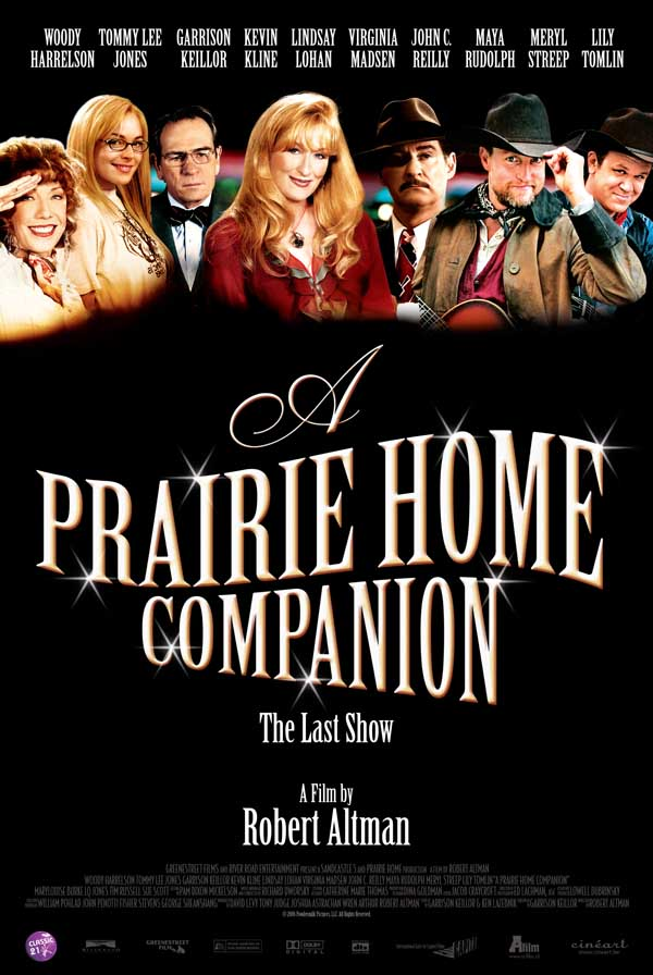 "poster for ""A Prairie Home Companion&quot"