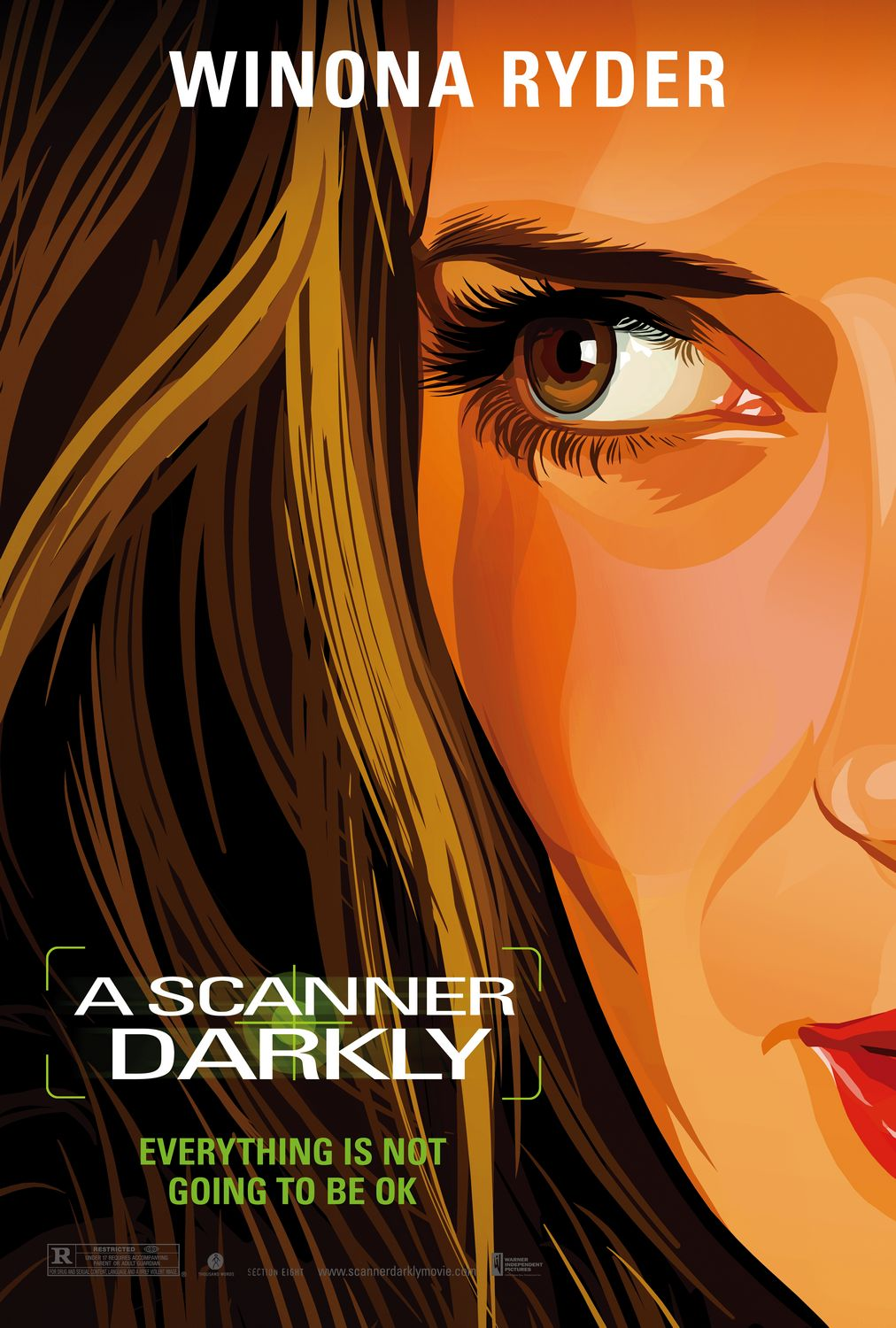 "poster for ""A Scanner Darkly&quot"