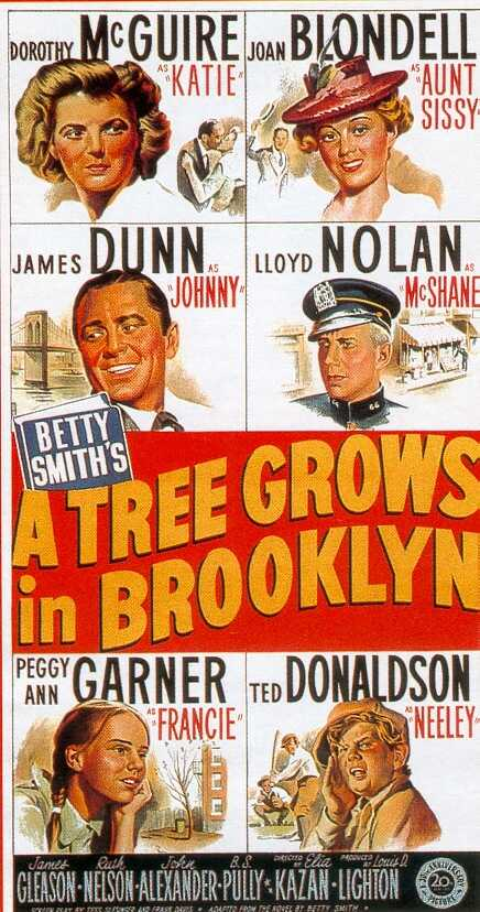 "poster for ""A Tree Grows in Brooklyn"" by Elia Kazan(1945)"