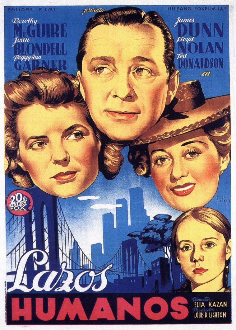 "poster for ""A Tree Grows in Brooklyn&quot"