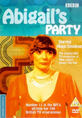"poster for ""Abigail's Party"" by Mike Leigh(1977)"