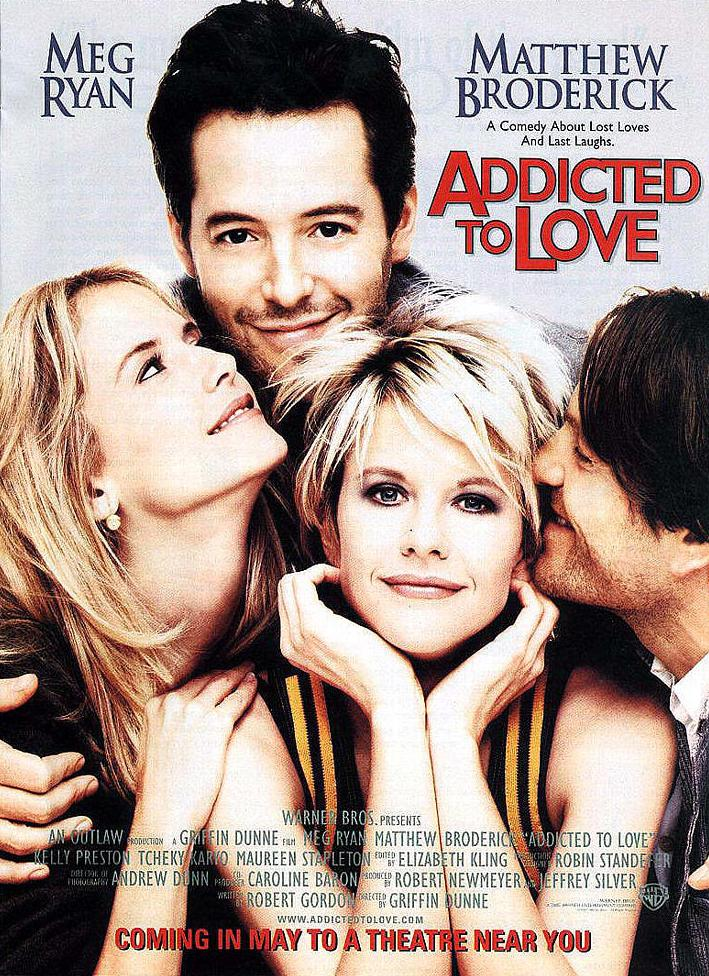 "poster for ""Addicted to Love"" by Griffin Dunne (1997)"