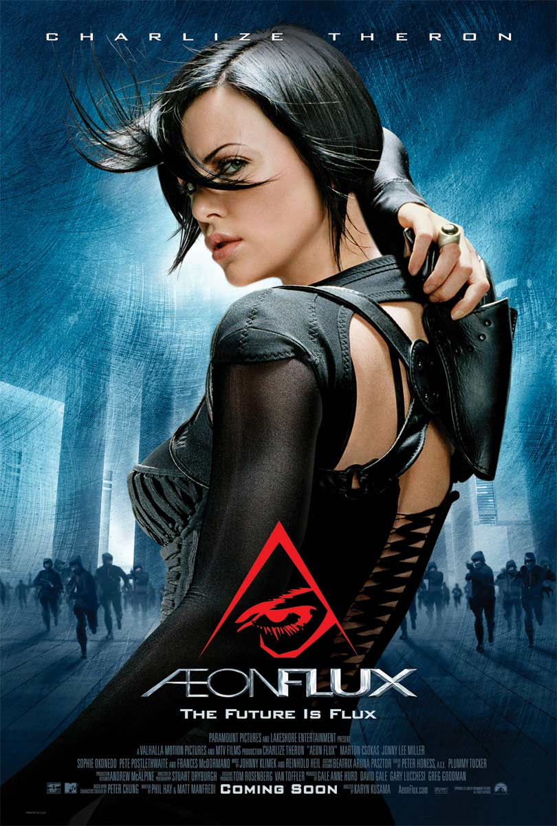 "poster for ""Aeon Flux"" by Karyn Kusama(2005)"