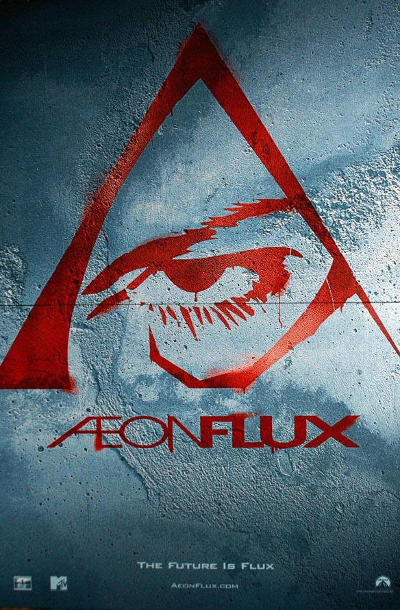 "poster for ""Aeon Flux&quot"