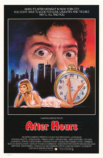 "poster for ""After Hours&quot"