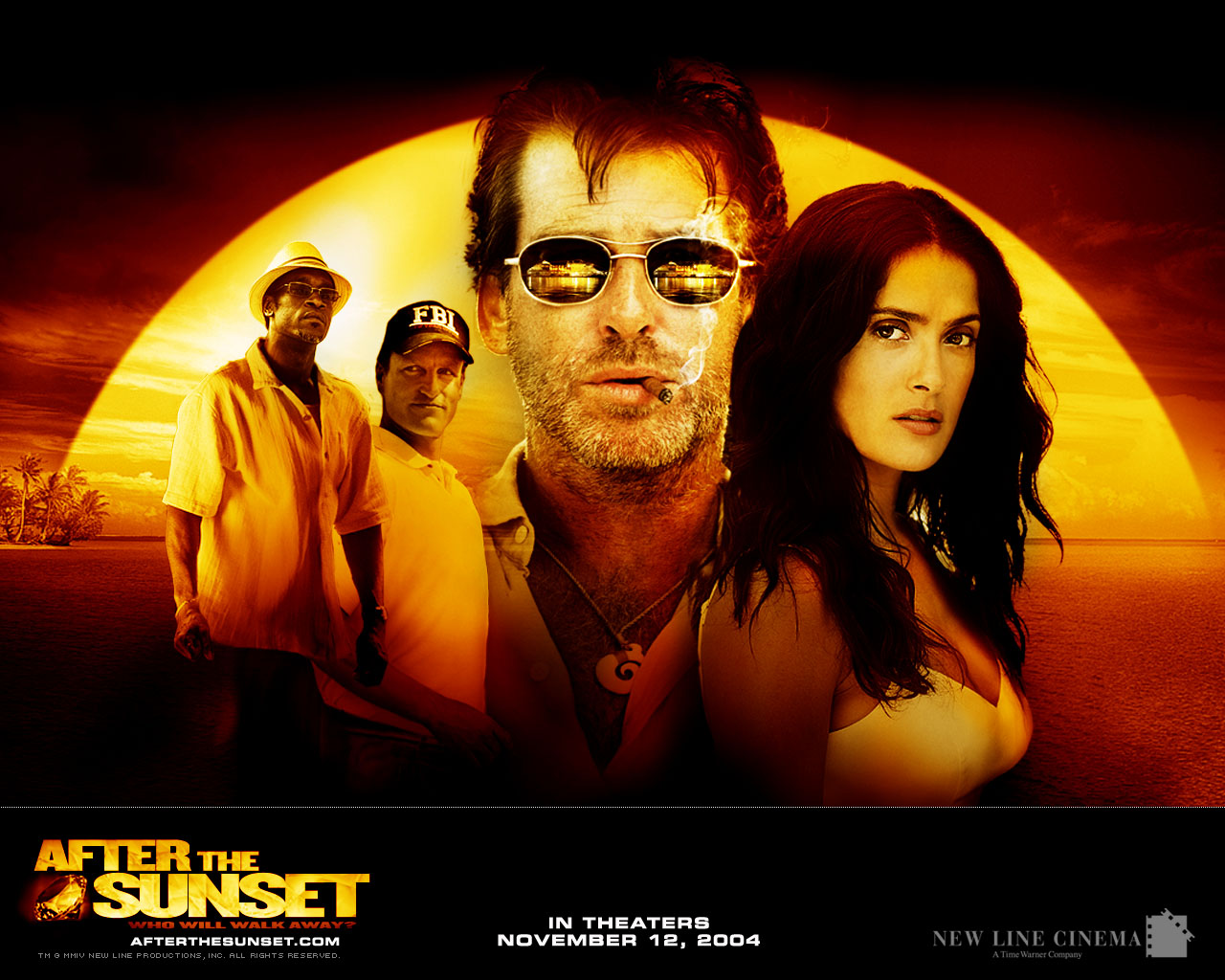 "poster for ""After The Sunset&quot"