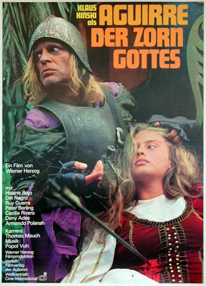 "poster for ""Aguirre der Zorn Gottes (Aguirre, The Wrath of God)&quot"