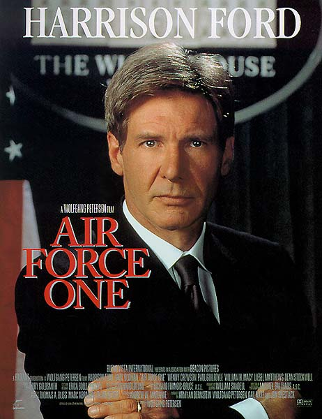 "poster for ""Air Force One"""