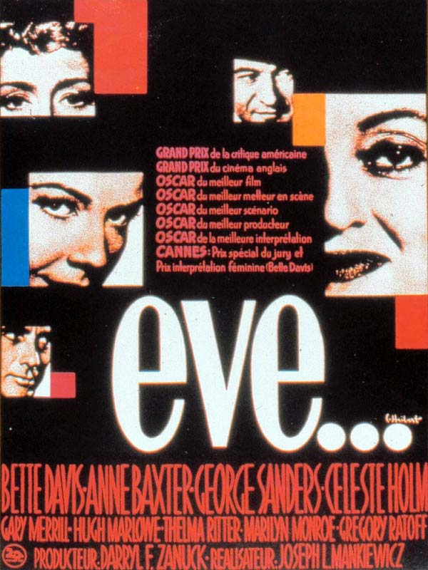 "poster for ""All About Eve&quot"
