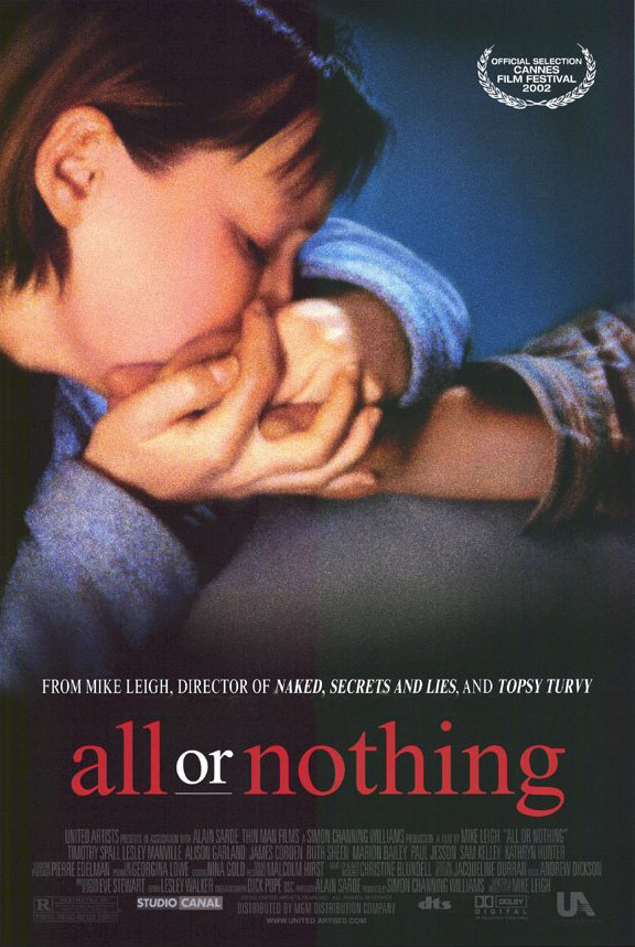"poster for ""All Or Nothing"" by Mike Leigh (2002)"