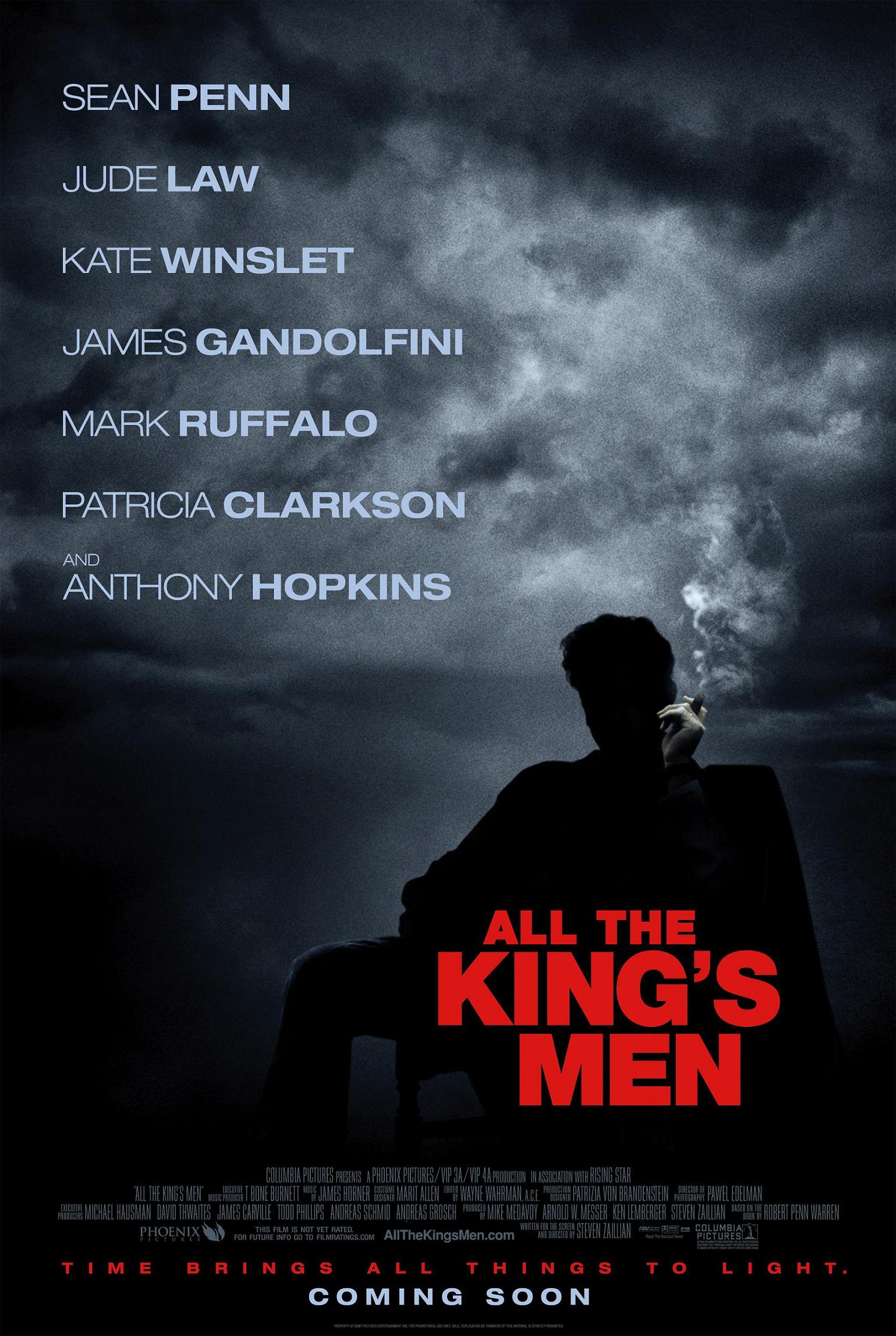 "poster for ""All The King's Men"" by Seven Zaillian(2006)"