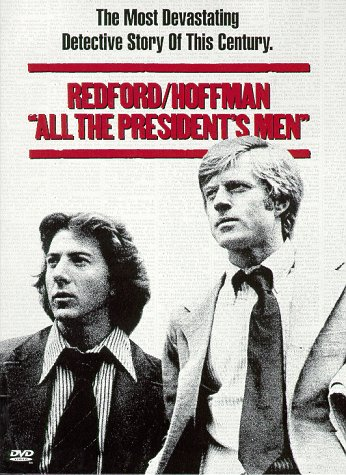 "poster for ""All the President's Men&quot"