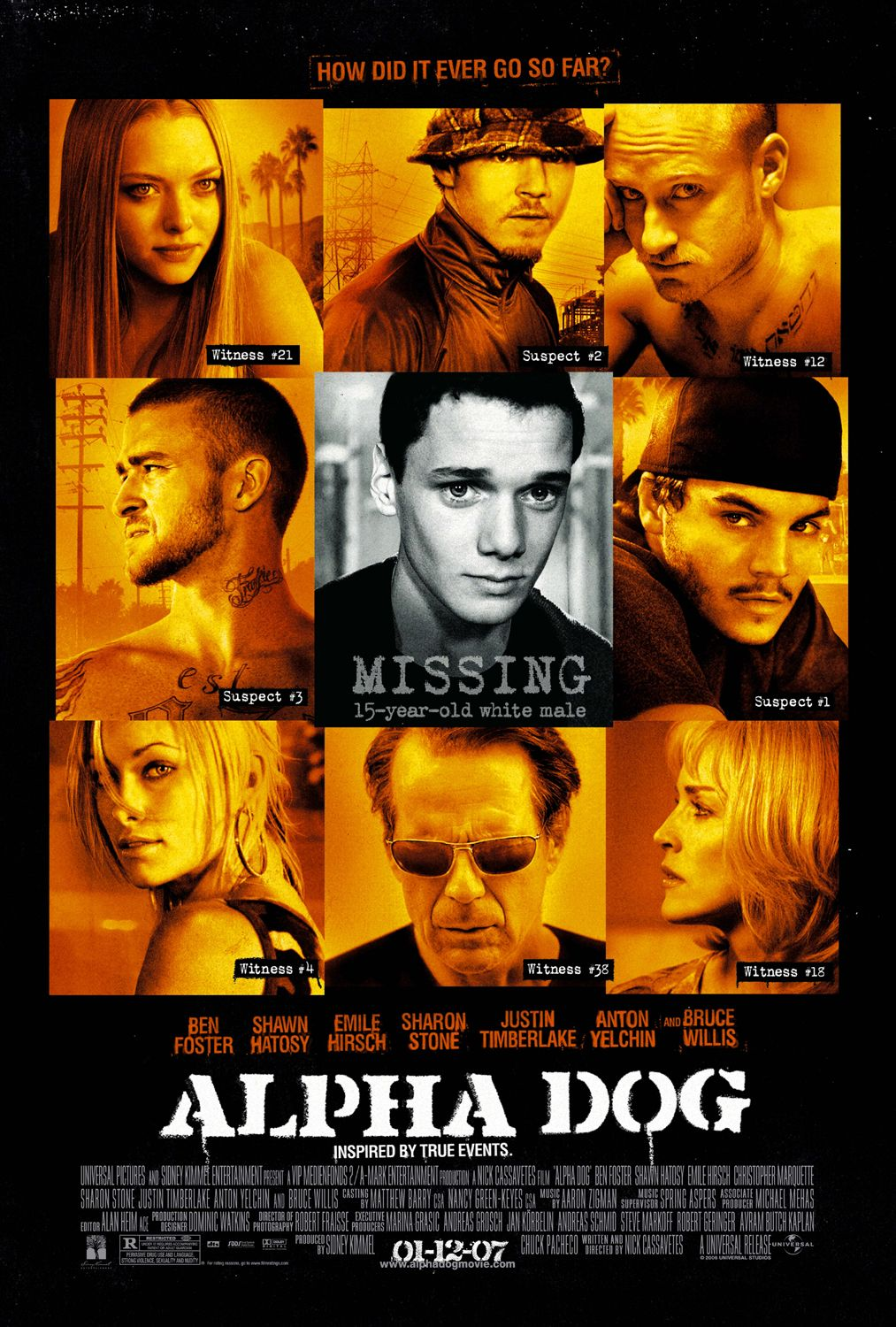 "poster for ""Alpha Dog"" by Nick Cassavetes(2006)"