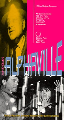 "poster for ""Alphaville, une �trange aventure de Lemmy Caution&quot"