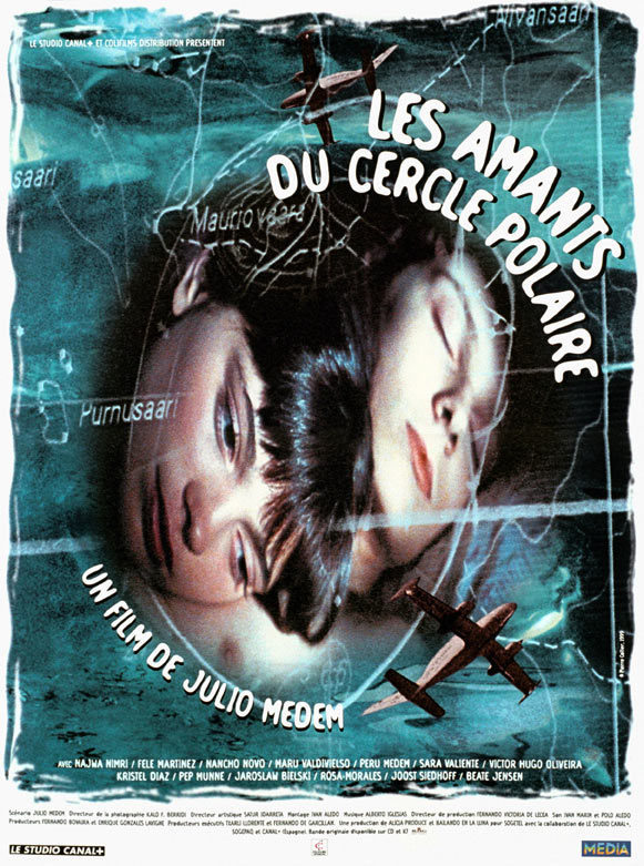 "poster for ""Amantes del C�rculo Polar, Los (Lovers of the Arctic Circle)&quot"
