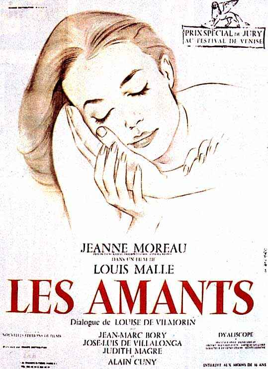"poster for ""Amants, Les"""