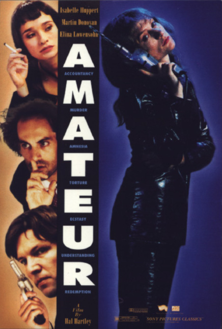 "poster for ""Amateur"""