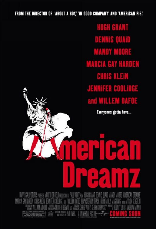 "poster for ""American Dreamz&quot"