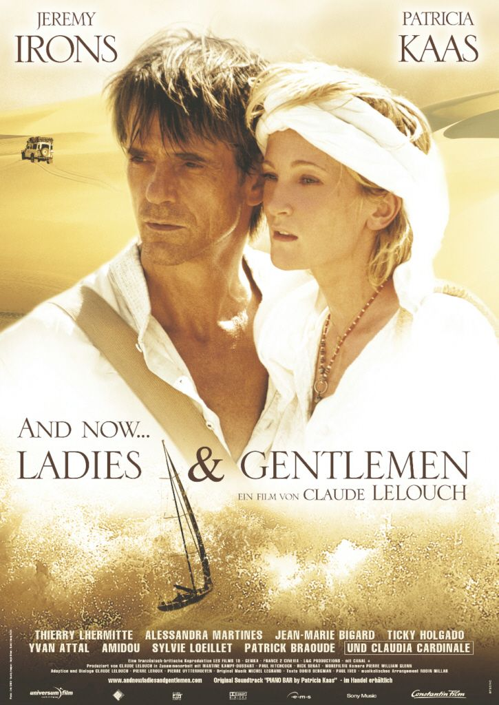 "poster for ""And Now... Ladies and Gentlemen"" by Claude Lelouch (2002)"