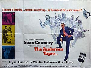 "poster for ""Anderson Tapes, The&quot"