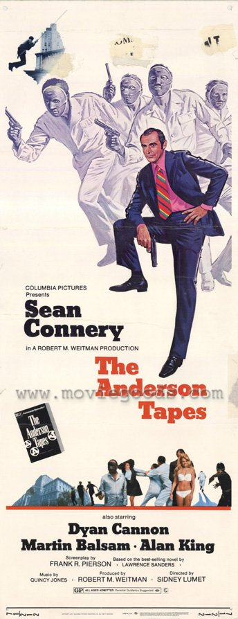 "poster for ""Anderson Tapes, The"""