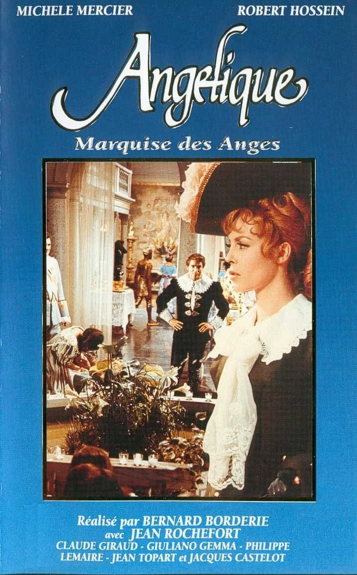 "poster for ""Ang�lique, Marquise des Anges"" by Bernard Borderie (1964)"