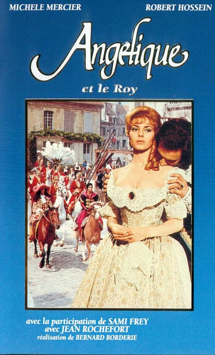 "poster for ""Ang�lique et le roy"" by Bernard Borderie(1966)"