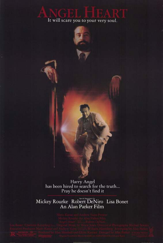 "poster for ""Angel Heart"" by Alan Parker(1987)"