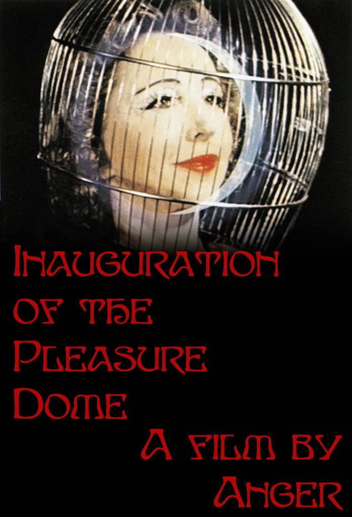 "poster for ""Inauguration of the Pleasure Dome"" by Kenneth Anger(1954)"