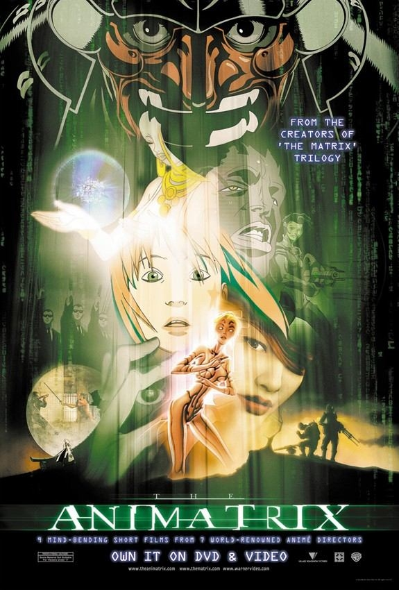 "poster for ""Animatrix, The&quot"