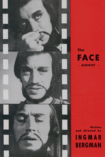 "poster for ""Ansiktet (The Face, The Magician)&quot"