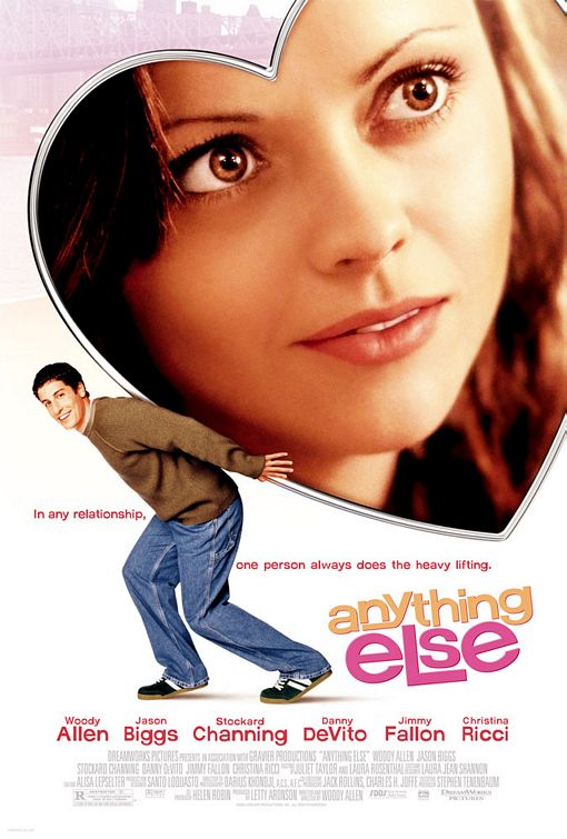 "poster for ""Anything Else"" by Woody Allen (2003)"
