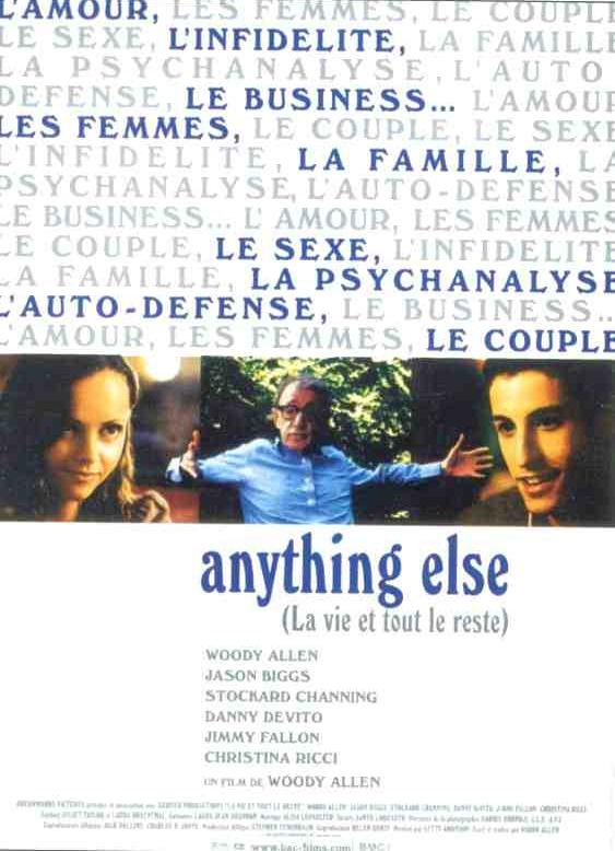 "poster for ""Anything Else&quot"