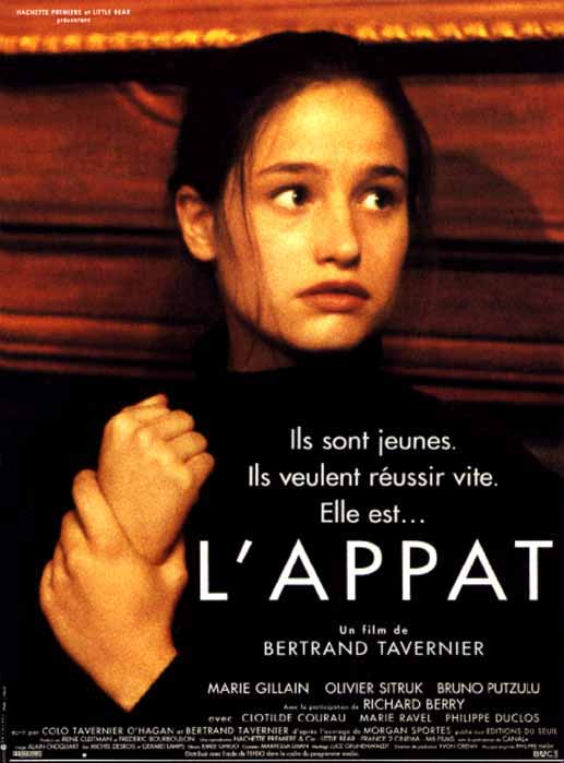 "poster for ""L'Appat"" by Bertrand Tavernier(1995)"