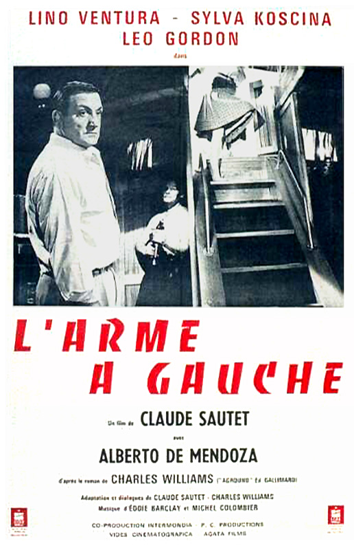 "poster for ""Arme a gauche, L'"" by Claude Sautet(1965)"