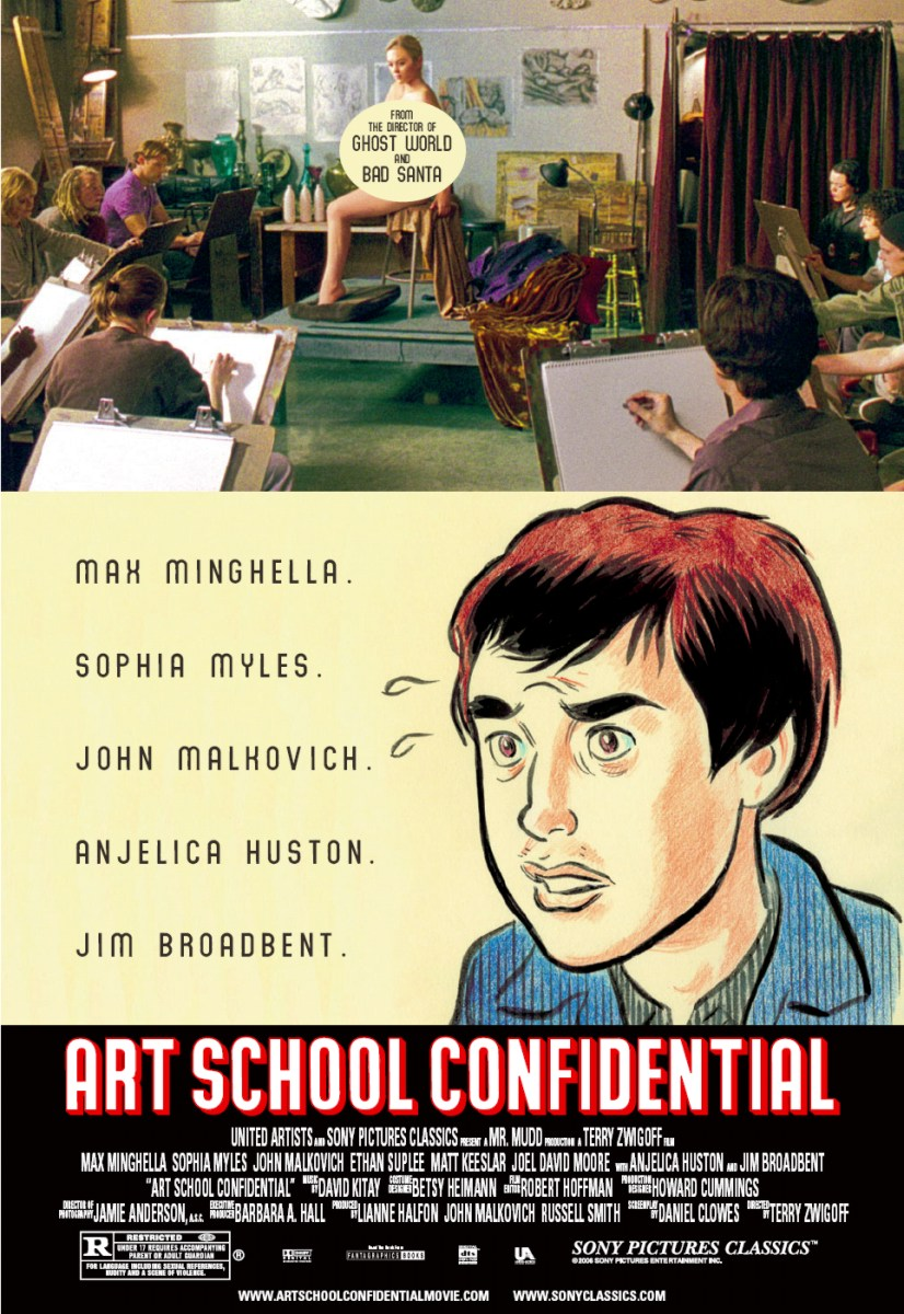 "poster for ""Art School Confidential"" by Terry Zwigoff (2006)"
