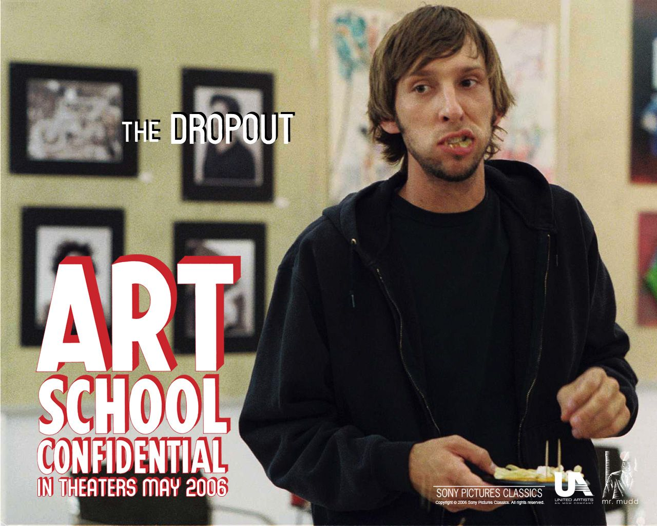 "poster for ""Art School Confidential&quot"