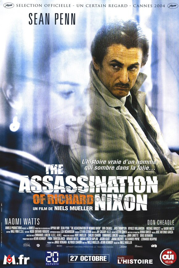 "poster for ""Assassination of Richard Nixon, The&quot"