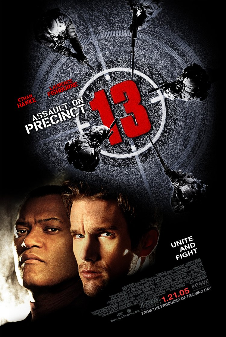 "poster for ""Assault on Precinct 13"" by Jean-Fran�ois Richet(2005)"