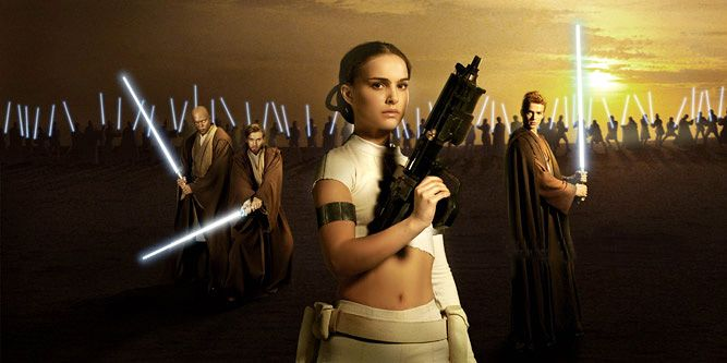 "poster for ""Star Wars: Episode II - Attack of the Clones&quot"